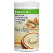 Sopa Instantánea con vitaminas y minerales