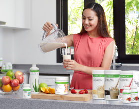 Herbalife's comprehensive product ranges