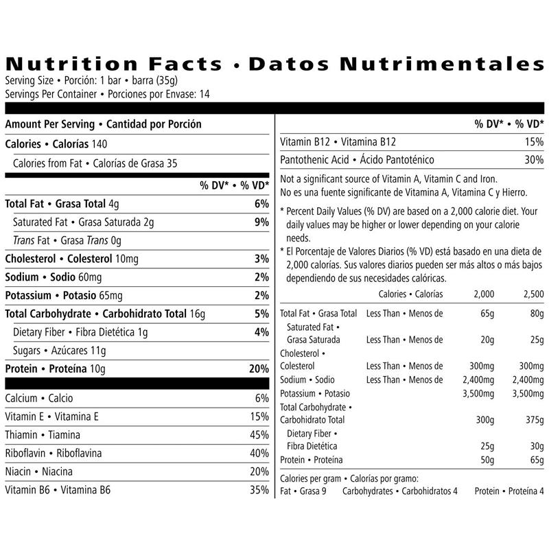 herbalife protein bar nutrition facts  u2013 besto blog