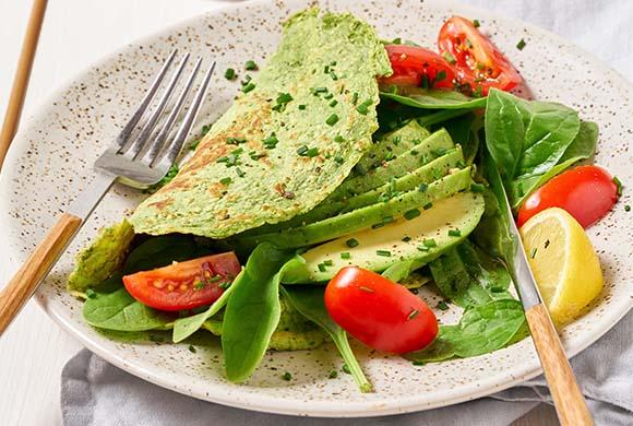 Omelette_proteica_agli_spinaci
