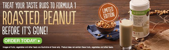 Formula 1 Roasted Peanut