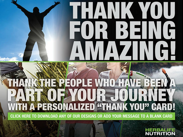 Iam Herbalife ToYouWithThanks full - #ToYouWithThanks Should Be a Year-Round Priority at Herbalife