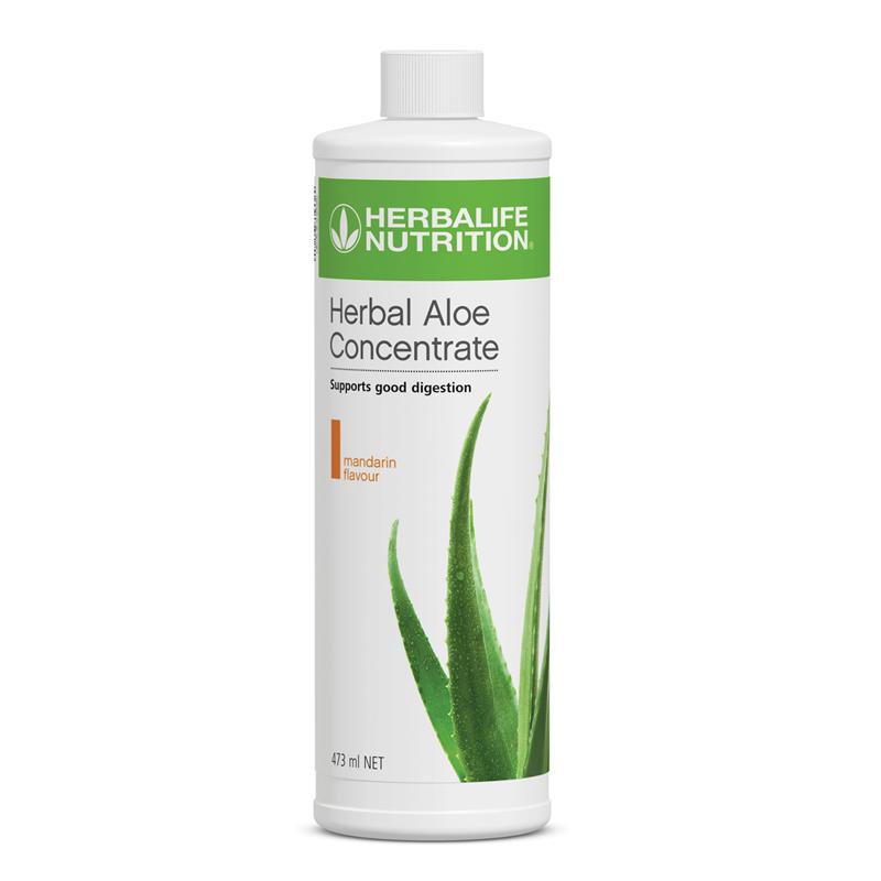Independent Herbalife Distributor Herbal Aloe Concentrate Mandarin 473ml