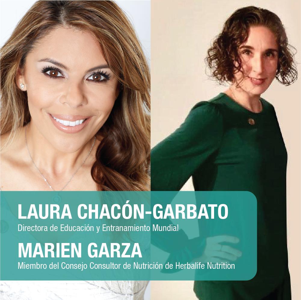 Marien Garza y Laura Chacón
