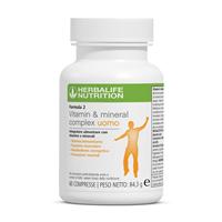 Formula 2 Vitamin & Mineral Complex Uomo 60 Compresse