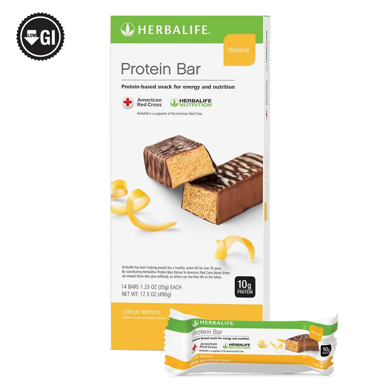 Independent Herbalife Distributor   Protein Bar Deluxe
