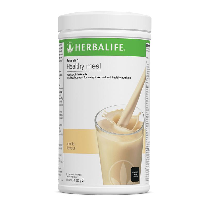 Herbalife Formula 1 Nutritional Shake Mix Vanilla