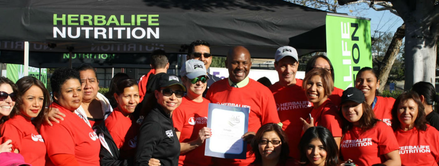 Herbalife Hosts Fitness Camp in Support of American Heart Association's National Wear Red Day®