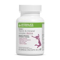 Formula 2 Vitamin & Mineral Complex Donna 60 Compresse