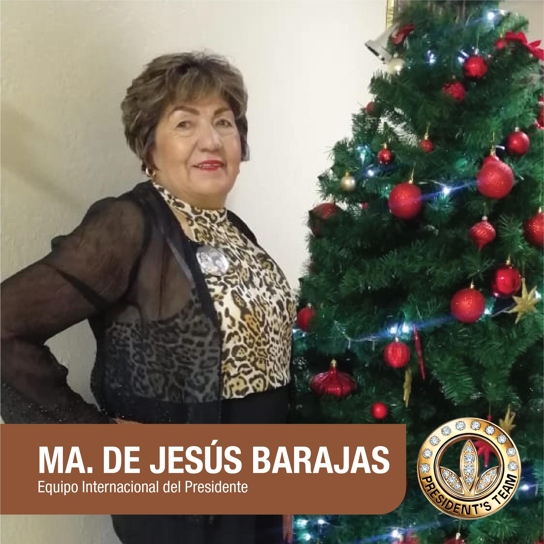 Maria de Jesús Barajas Mojica